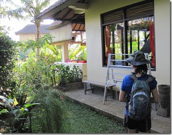 The house we stayed at in Bali (5/6)
