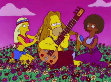 HomerSimpsonHippie